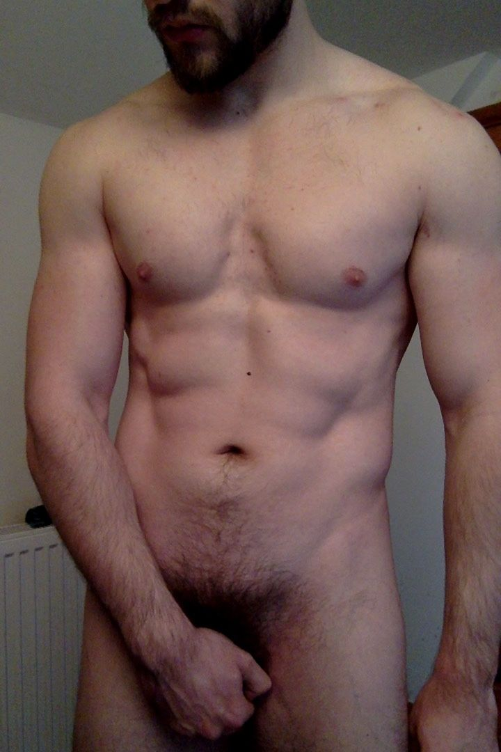 Naked men with very hairy pubic hair
