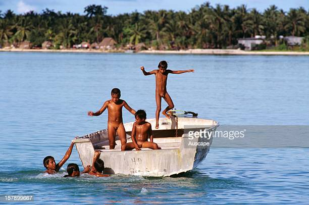 Naked guys on boats