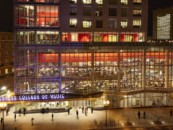 Colleges with music majors in new york