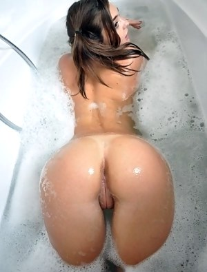Perfect pale nude ass