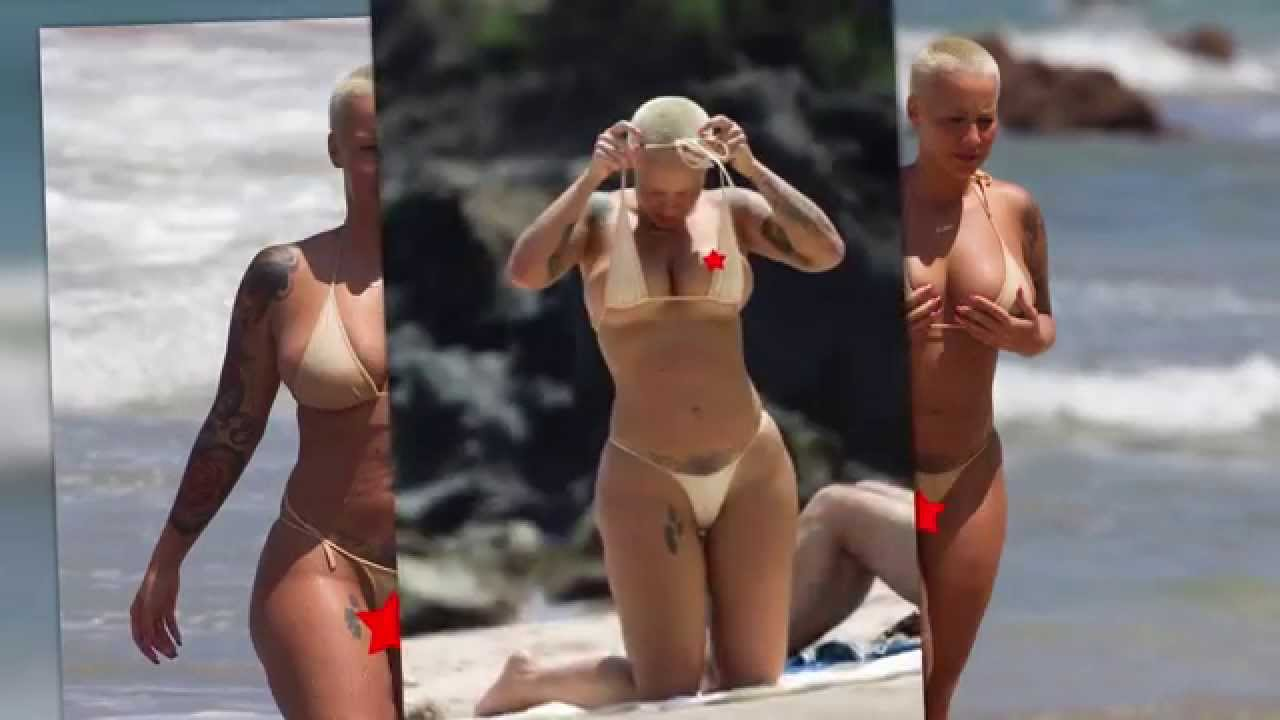Naked at the beach videos