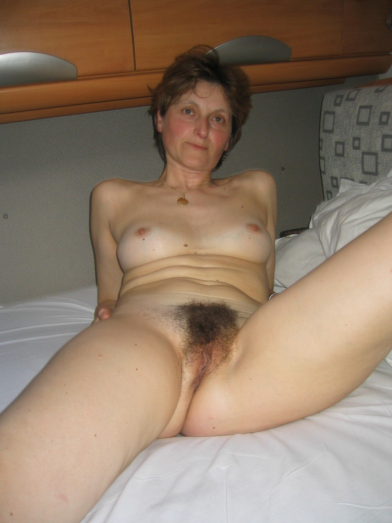 My hairy blond mature ex wife