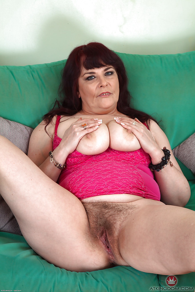 Big hairy pussy solo