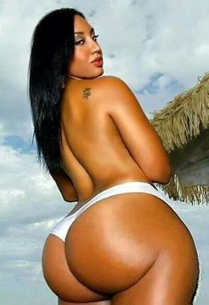 Naked black women with big booties