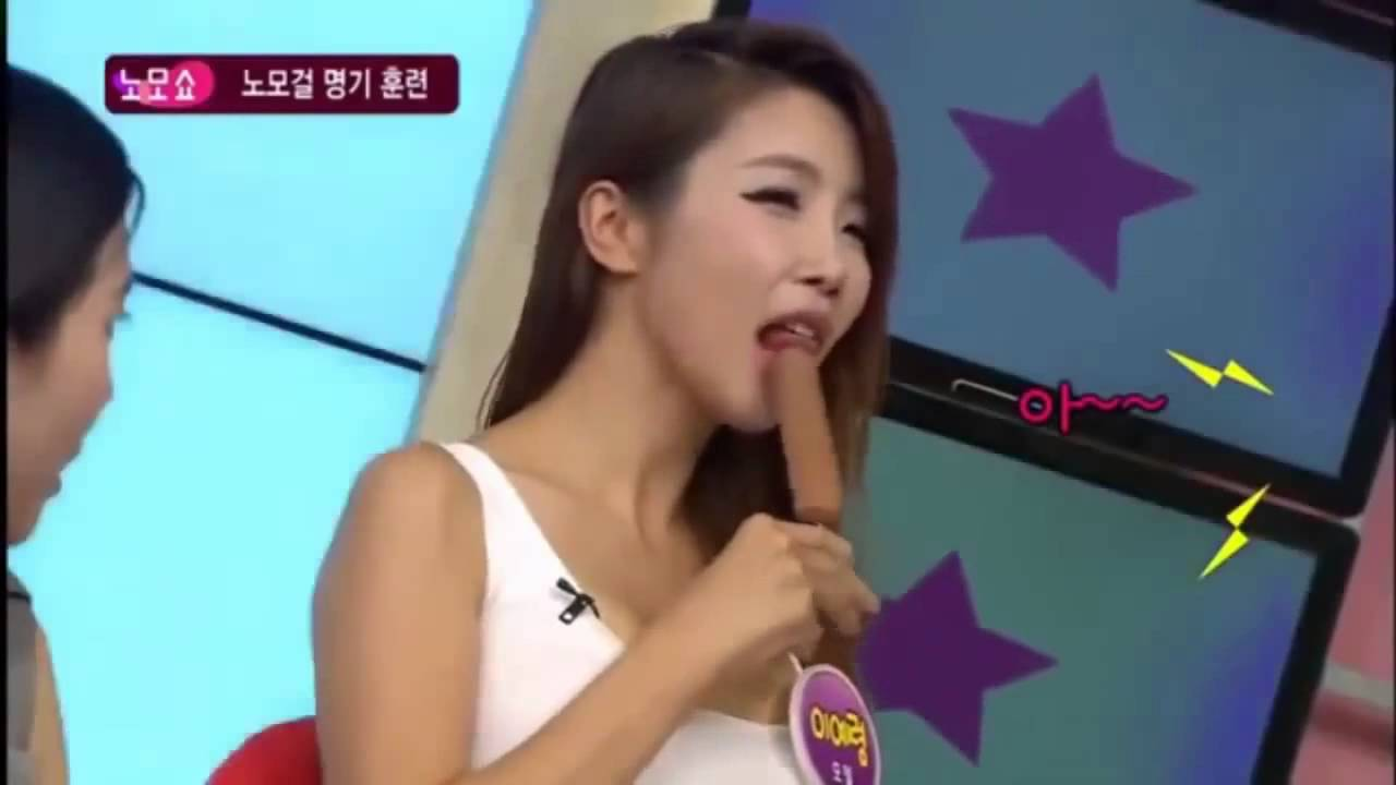 Japanese game show blowjob