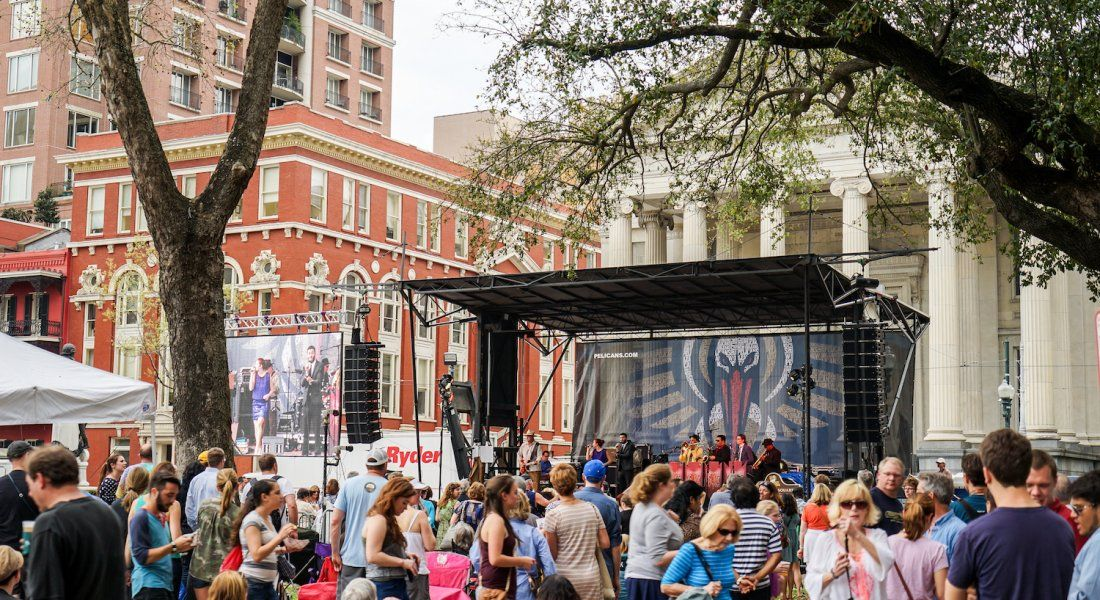 Music at lafayette square new orleans