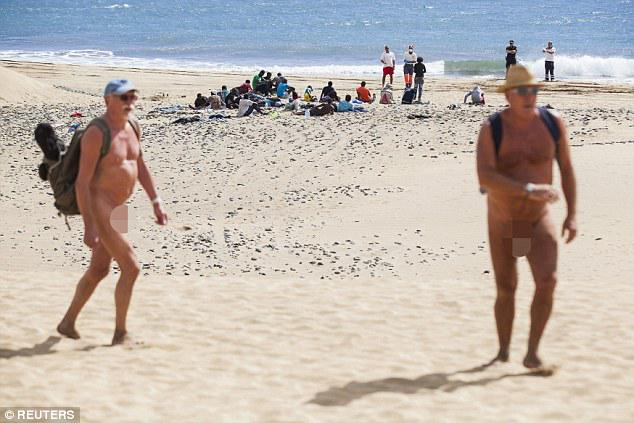 Nude beaches south africa