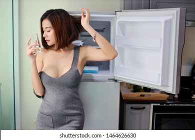 Sexy asian housewife