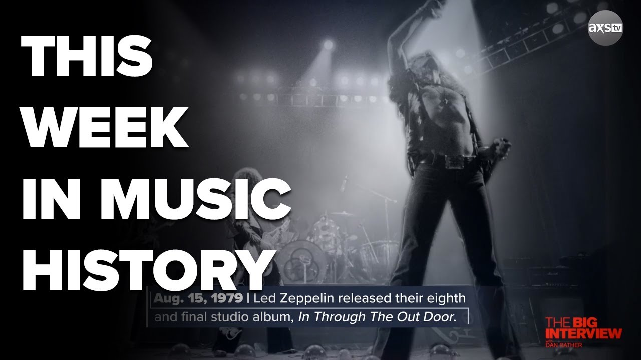 This week in history music